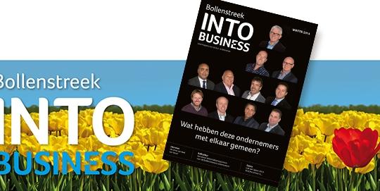 Bollenstreek INTO business voorjaar 2014 met teksten van May-lisa de Laat