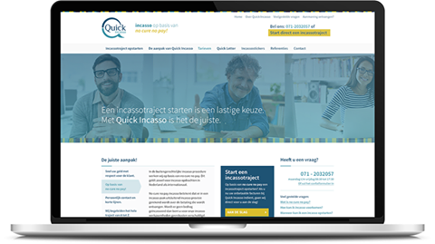 teksten voor website Quick Incasso door May-lisa de Laat