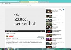 Kasteel Keukenhof film, teksten voor film
