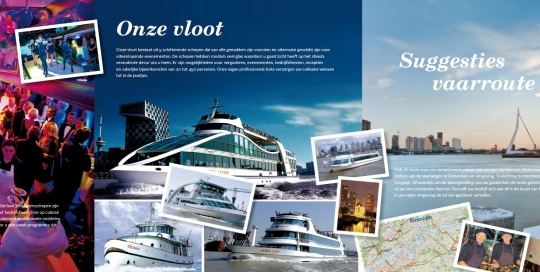 spido brochure drijvende eventlocaties met teksten van May-lisa de Laat