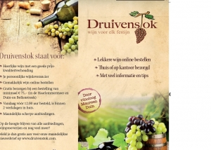 Folder met teksten van May-lisa de Laat voor Druivenstok.com
