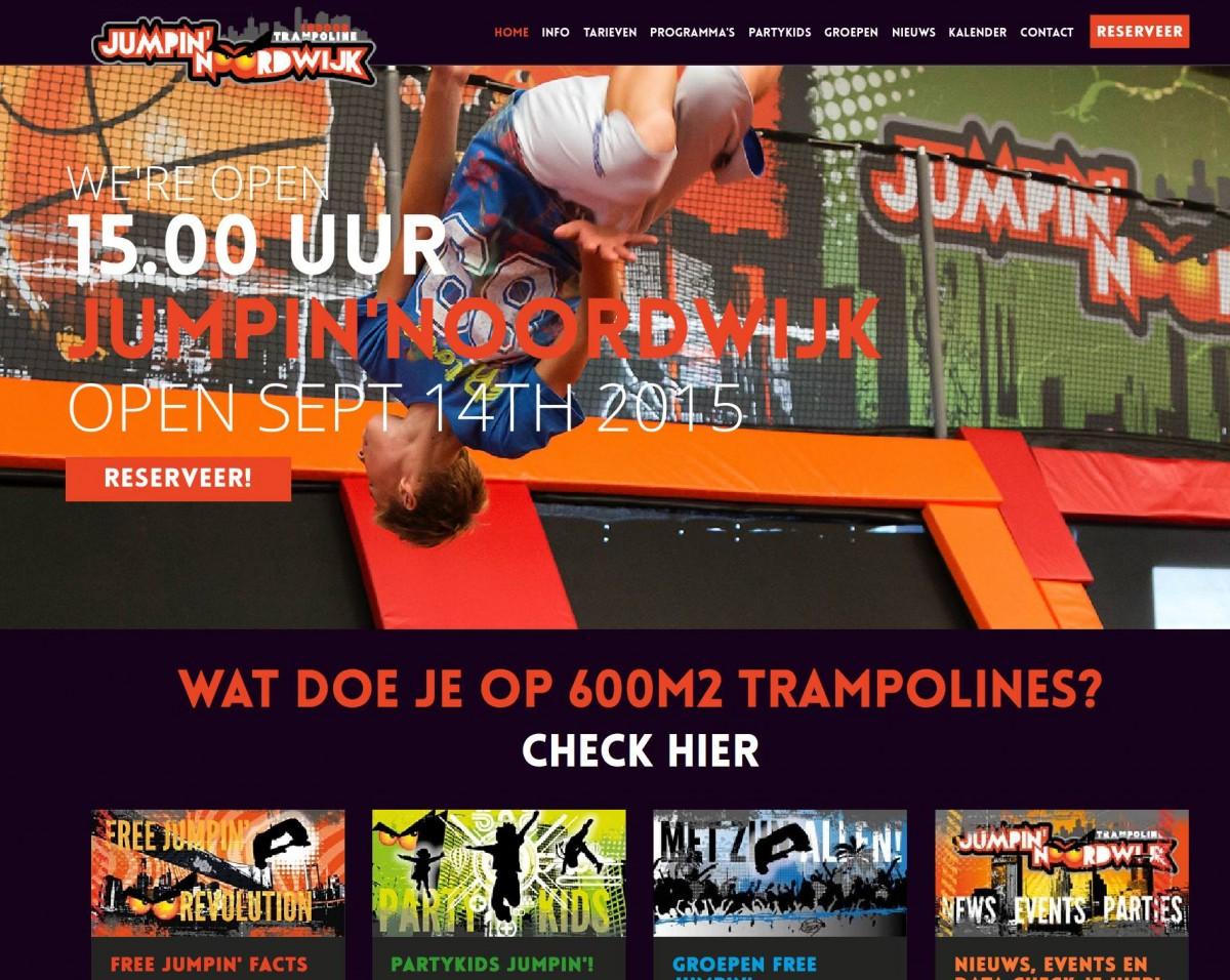 webteksten Jumpin Noordwijk door May-lisa de Laat