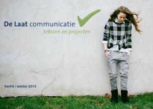 De Laat Communicatiie nieuwsbrief najaar winter 2015