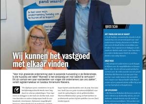 De Laat Communicatie schrijft voor Hoevens Makelaardij.