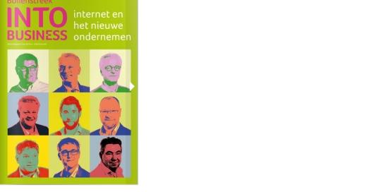 May-lisa de Laat schreef teksten voor Bollenstreek INTO business herfst 2015