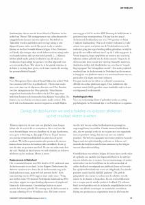 Ratings en arbeidsverhouding artikel May-lisa de Laat in Tijdschrift Conflicthantering