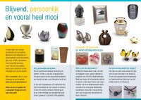 brochure Memorie Natuusteen met tekst May-lisa de Laat van De Laat Communicatie