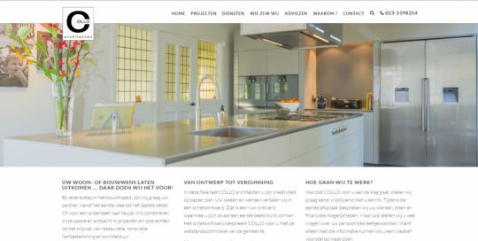 May-lisa de Laat schreef de teksten voor de nieuwe website van COLLO Architecten