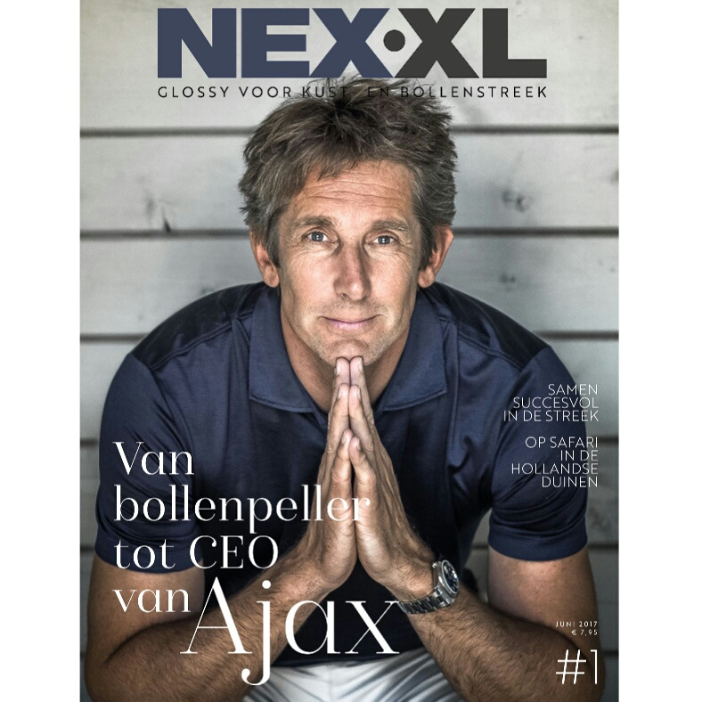 May-lisa de Laat van De Laat Communicatie schreef 3 artikelen voor nieuwe magazine NEX XL.