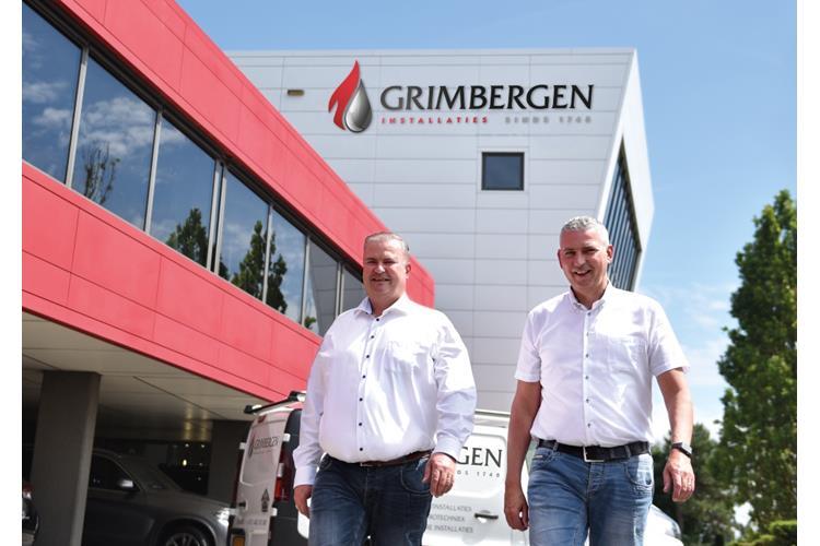 Tekstschrijver May-lisa de Laat mocht de teksten schrijven over de naamswijziging van Grimbergen Installaties