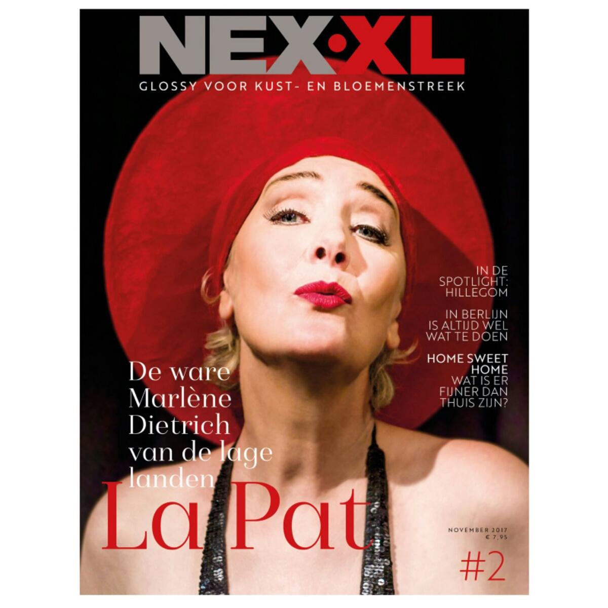 May-lisa de Laat tekstschrijver bij De Laat Communicatie schreef 3 artikelen voor NEX XL tweede editie.