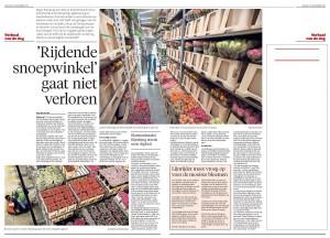 lijnrijders snoepwinkels May-lisa de Laat Leidsch Dagblad