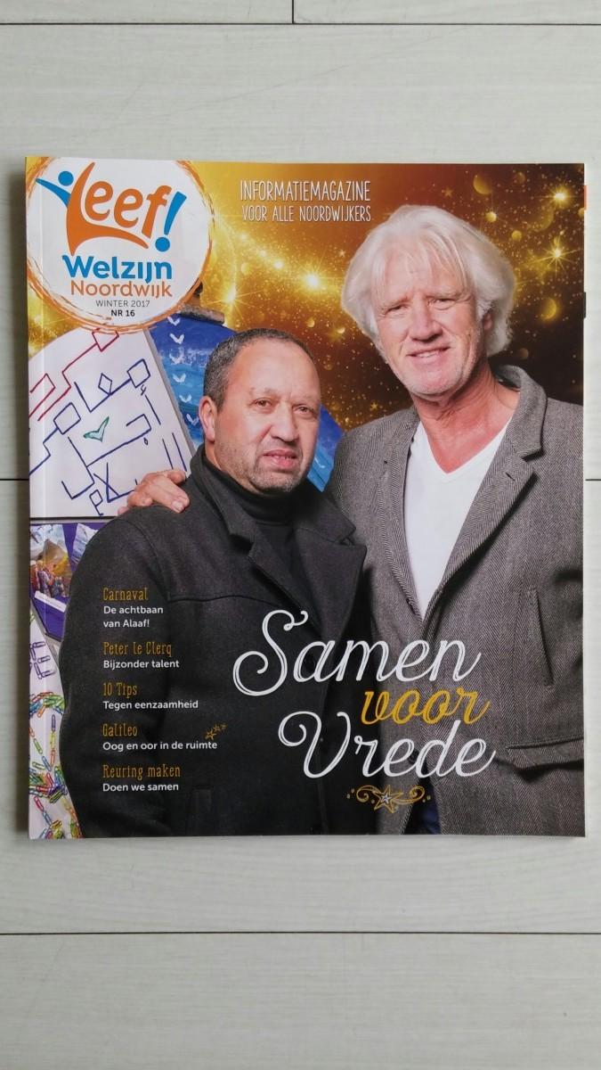 May-lisa de Laat schrijft voor Leef! Welzijn Noordwijk