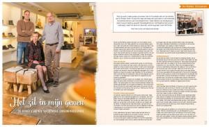 advertorial De Ridder Schoenen in Leef! december 2017 door May-lisa de Laat