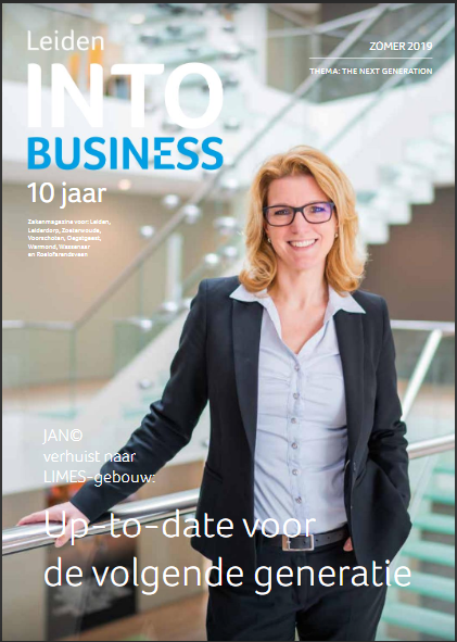 May-lisa de Laat schrijft voor INTO business Leiden en Duin- en Bollenstreek