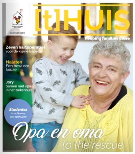 (t)Huis Leiden magazine voorjaar 2020 met artikel May-lisa de Laat