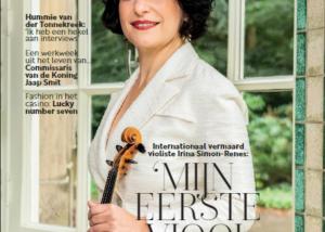cover glossy XXL 7 met artikel May-lisa de Laat