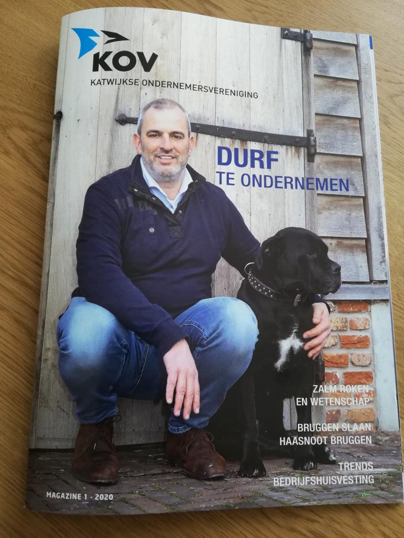 interview Peter Jongejan door May-lisa de Laat voor KOV Magazine